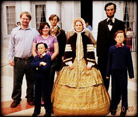 abe lincolns family savi joe and the lincoln family in wax lol picture of