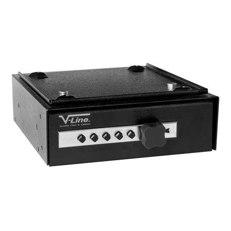 Desk Mate v line gun security cases cabinets narcotics security box