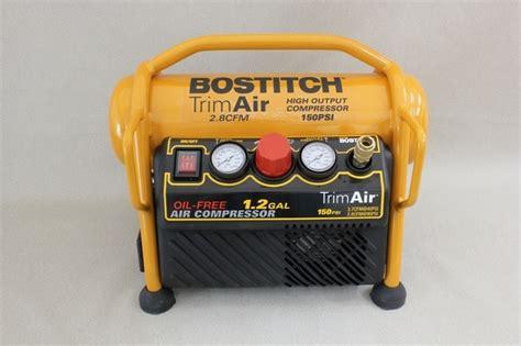 stanley bostitch trim air compressor gordgraff