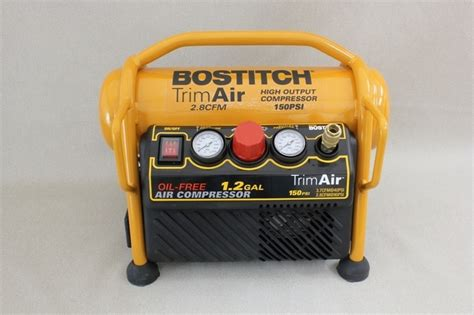 stanley bostitch trim air compressor gordgraffcom