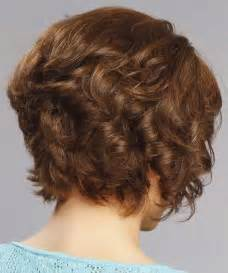 vies of side and back of wavy bob hairstyles front back and side of curly bob hairstyles
