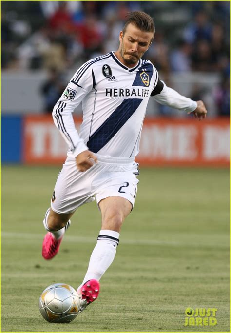 David Beckham Injures Knee In Soccer Match by Sized Photo Of David Beckham Soccer 09 Photo