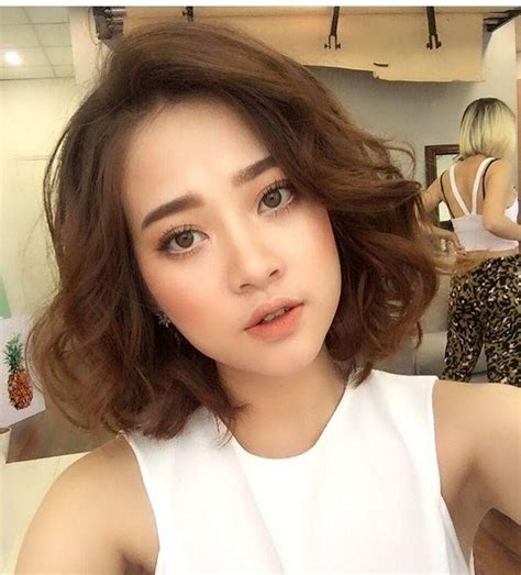 korean perm hairstyle for women short perm hairstyles asian hairstyles