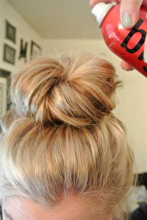 blonde hairstyles tutorial effortless messy bun tutorial hair style