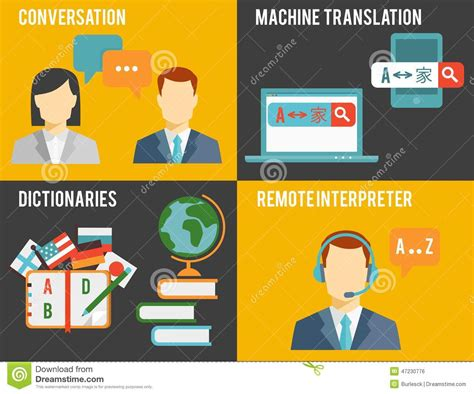 graphics design language foreign language translation concept graphics stock vector
