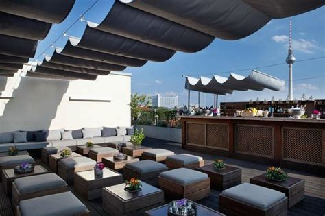 Roof Top Bars Berlin by Rooftop Bar Picture Of Amano Bar Berlin Tripadvisor