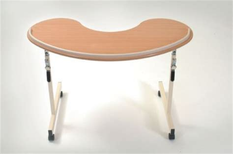 over armchair table kidney over chair table for armchair comfort