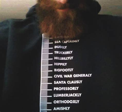 how to measure your beard beard measuring t shirt