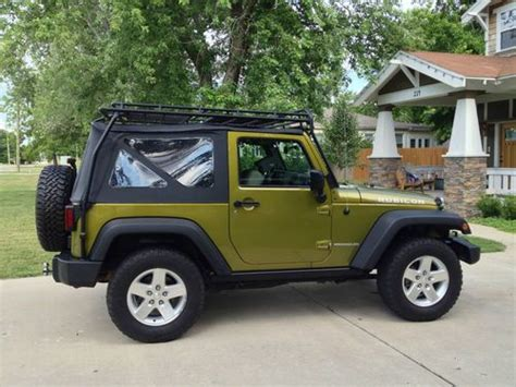 sell used 2007 jeep wrangler rubicon 2dr soft top
