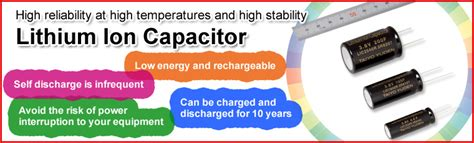 lithium ion capacitor capacitors taiyo yuden co ltd