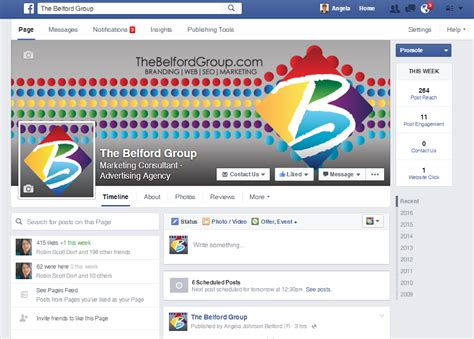 yahoo layout change 2015 facebook rolls out changes to business pages august