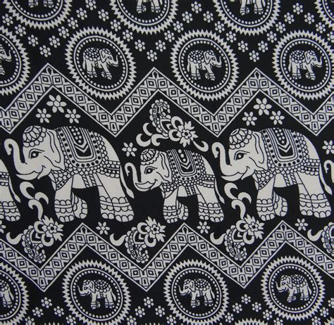 Elephant Print Upholstery Fabric by Elephant Print Polyester Fabric Sewing Supply Fabrics 44