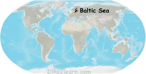 baltic sea map baltic sea map