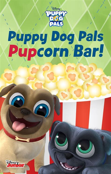 puppy pals decorations create your own popcorn bar for your puppy a puppy pals