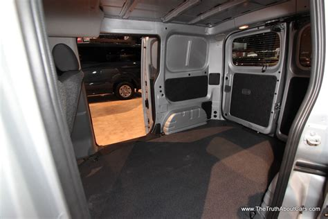 nissan cargo van interior 2014 nissan nv200 cargo van 5 the truth about cars
