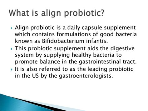 align probiotic supplement side effects what is align probiotic benefits and side effects
