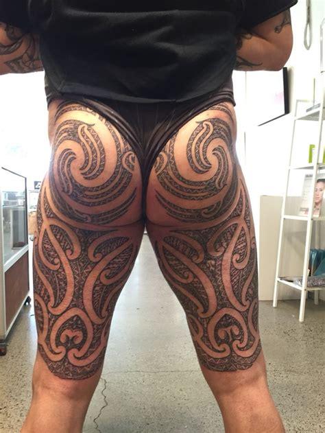 tattoo ta moko puhoro back view ta moko maori