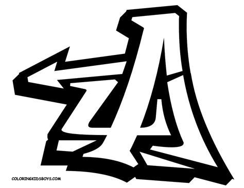 new stylish graffiti a in graffiti