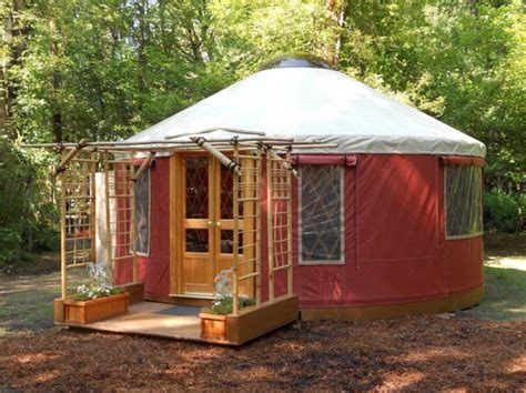 tiny yurt cabin for sale for 9 855 tiny house pins