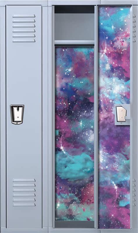 galaxy vinyl wallpaper nebulized night magnetic full length vinyl school locker