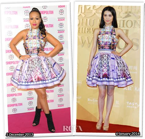 Who Wore It Better Han Tuxedo Dress by Who Wore Katrantzou Better 171 Fashionandstylepolice