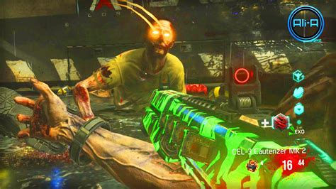 exo zombies gameplay call of duty advanced warfare zombies gameplay new cod