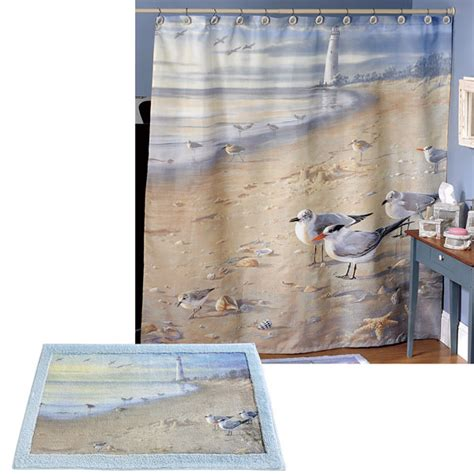 beach shower curtains bath accessories at the beach shower curtain bath accessories townhouse