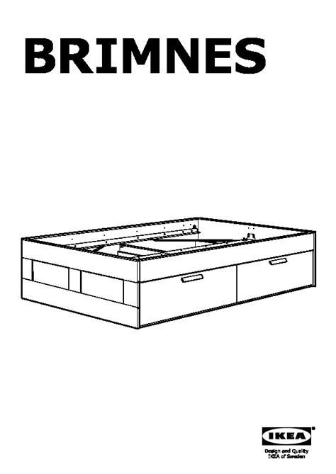 brimnes bed instructions brimnes bed frame with storage black leirsund ikea united states ikeapedia