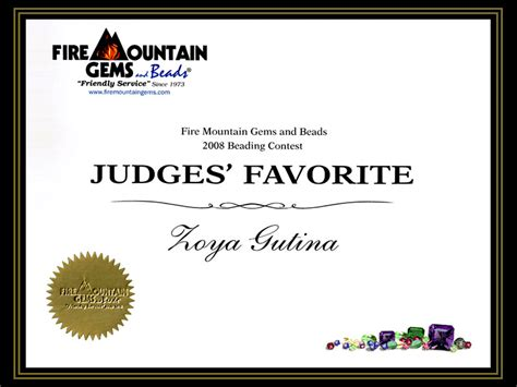 certificate of competition winner 4 best images of winner certificate template place
