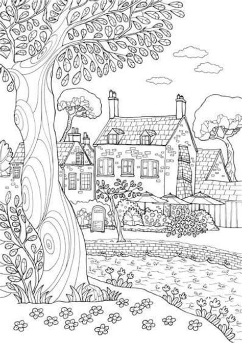 imagenes de paisajes para xolorear dibujos de paisajes para colorear e imprimir dibujos
