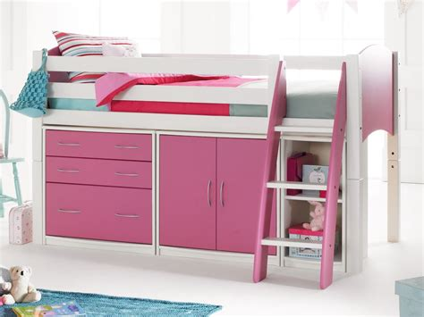 girls bunk beds with storage bunk beds for girls with storage