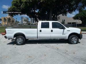 2006 Ford F250 Duty 2006 Ford F250 Superduty Crewcab 4x4 Diesel Xl