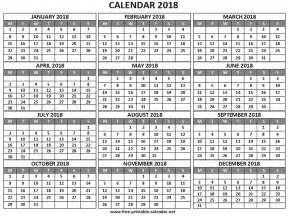 What Calendar Year Is The Same As 2018 Year 2018 Calendar Print Calendars From Free