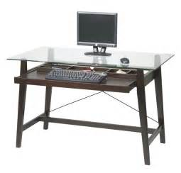 Computer Desk For Office Glass Computer Desk For Sophisticated Look My Office Ideas