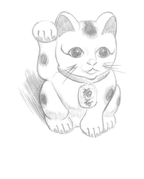 maneki neko 183 extract from 50 things to draw by ed tadem