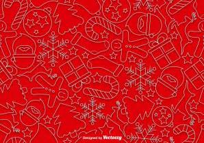 christmas  style icons seamless pattern   vectors clipart graphics vector art