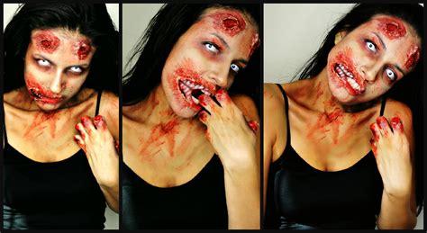tutorial zombie the walking dead the walking dead zombie makeup youtube