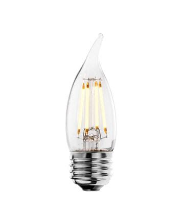 chandelier light bulb base led chandelier filament light bulbs medium base shop
