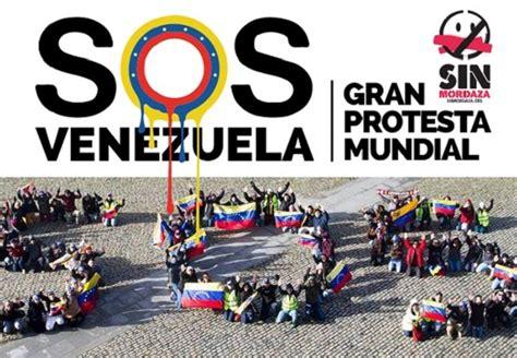 imagenes de sos venezuela gran protesta mundial sos venezuela 22f