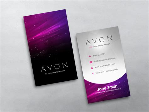 Avon Business Cards Templates Downloads by Avon Business Card 20