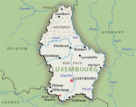 where is luxembourg on the map highest paying countries in the world in 2014