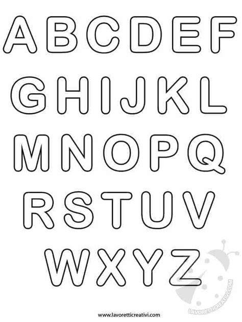 tutte le lettere dell alfabeto