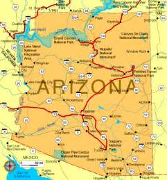 karte arizona map of arizona marco nef travel