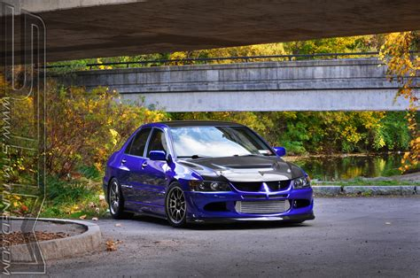 ricer evo stm ricer fall photoshoot evolutionm mitsubishi lancer