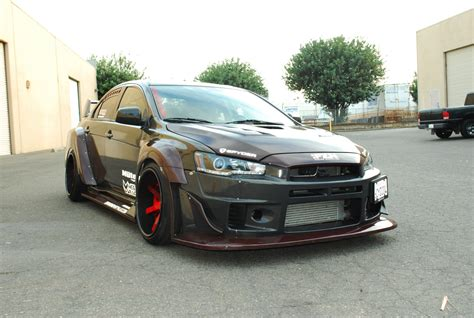 widebody evo craig flango s 2008 mitsubishi evo x wide body driven by