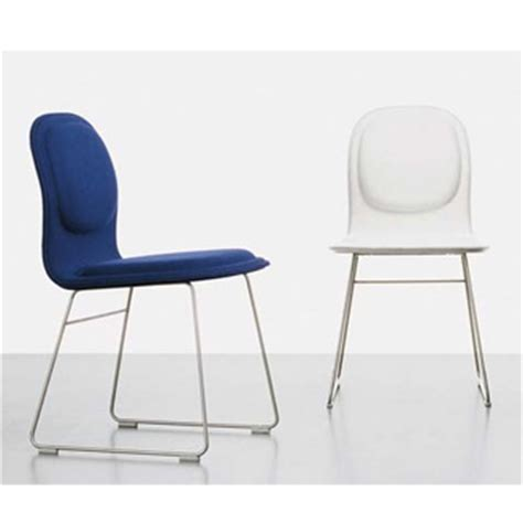Chair With Pad by Jasper Morrison Hi Pad Chair