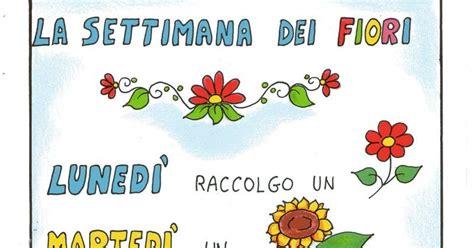 poesia i fiori maestra nella filastrocca la settimana dei fiori