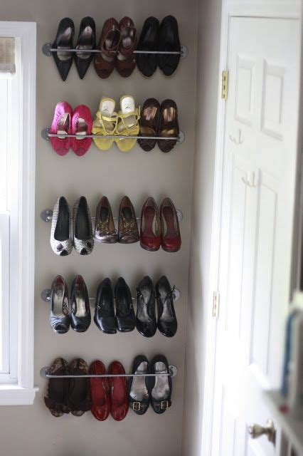 the frosting on the cake cheap and easy shoe storage with