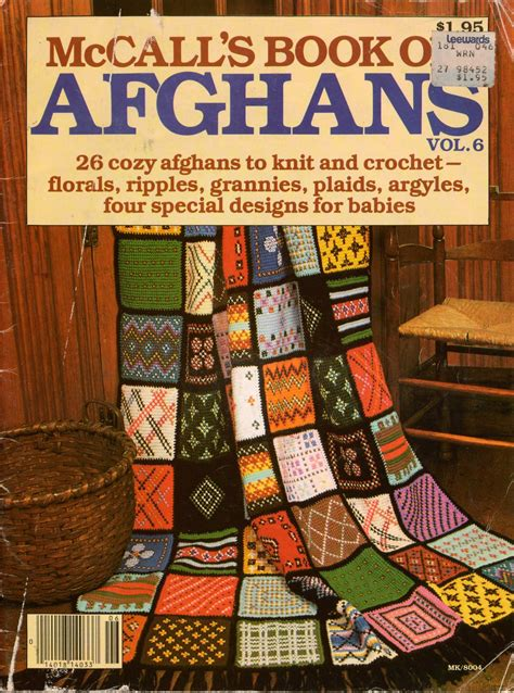 Mccalls Patchwork Patterns - mccalls afghans knitting crochet patterns patchwork baby