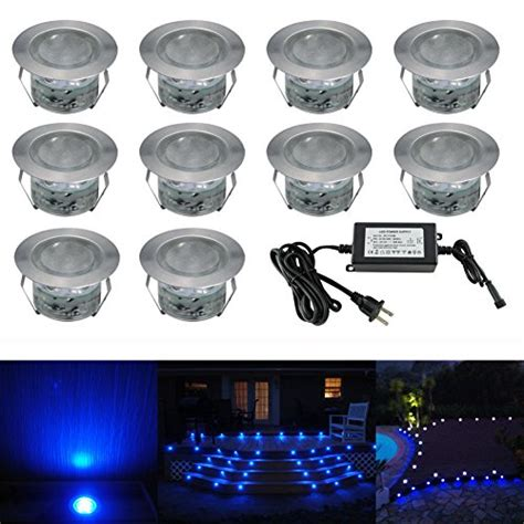 low voltage led well lights low voltage led deck lighting kit stainless steel